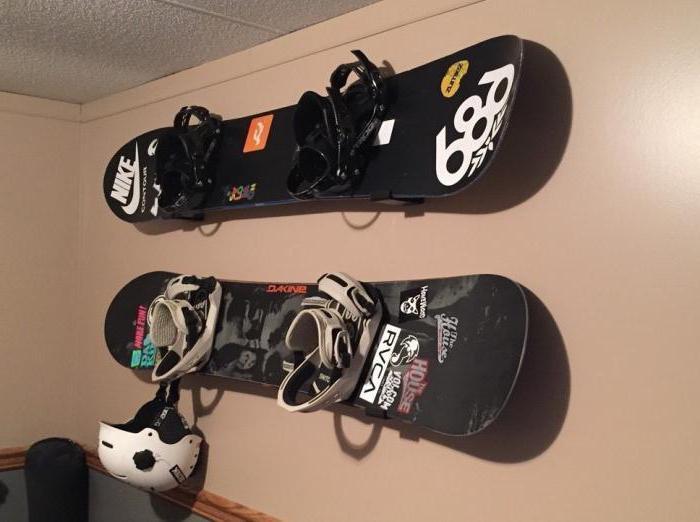 montaggio snowboard