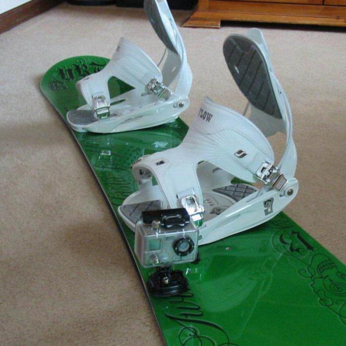 dimensione degli attacchi da snowboard