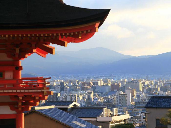 città sulle isole giapponesi