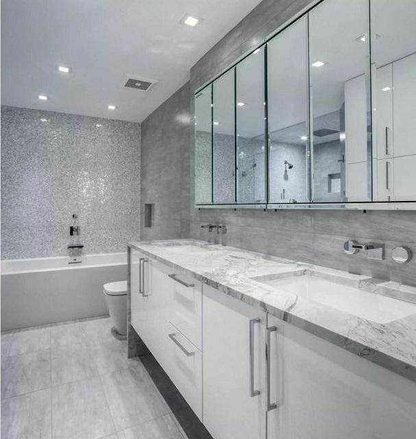 интериор на бани с тоалетна