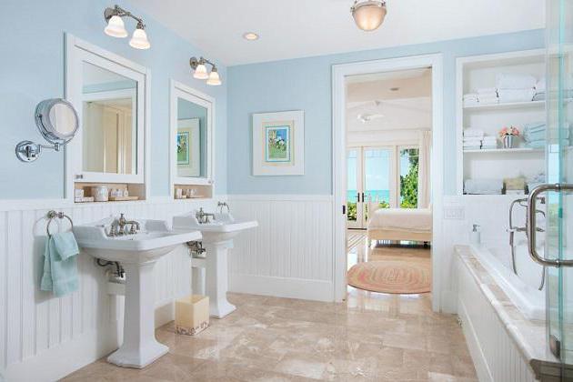 модерна баня с тоалетна