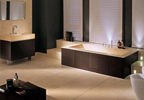 интериор на баня с тоалетна