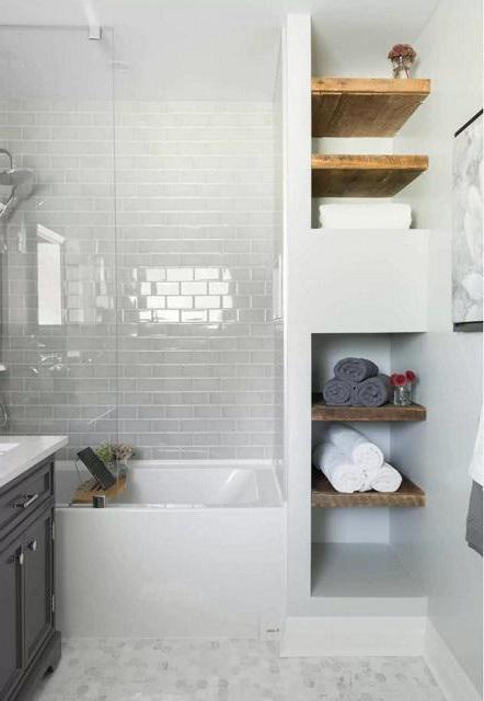 интериор на бани, комбиниран с тоалетна ремонт