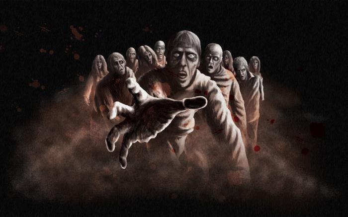 što je san o zombiju