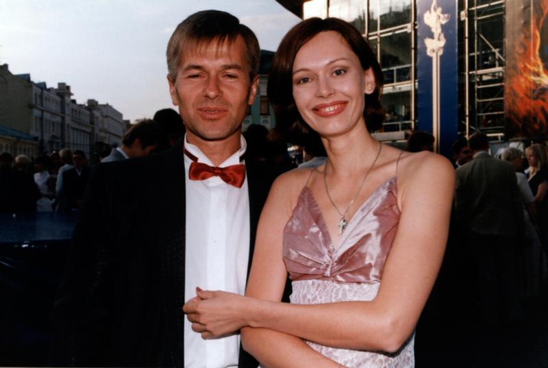 Z mężem Igorem Liwanowem