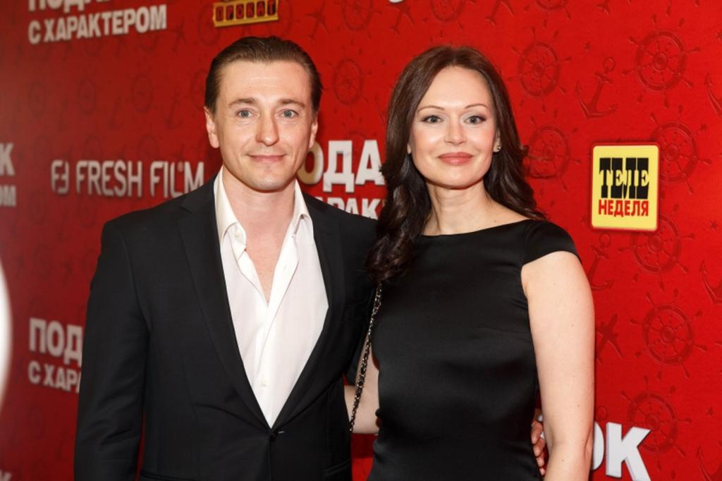 Z mężem Siergiejem Bezrukowem