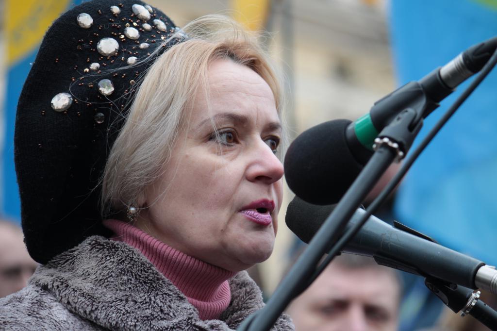 Irina Fahrion al raduno