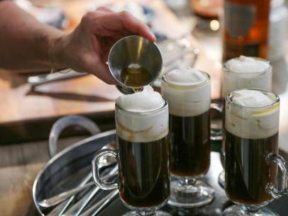 как да се пие ирландско кафе