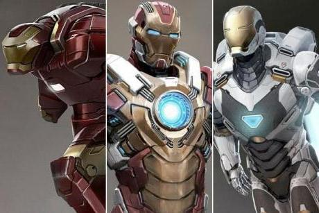 costume da uomo di ferro