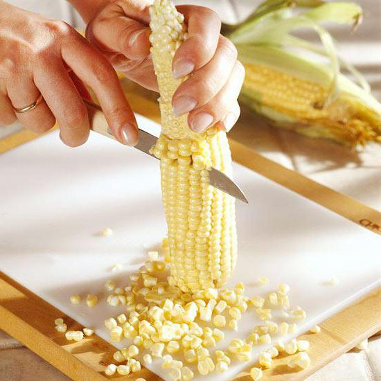 quanto è conservato il mais crudo