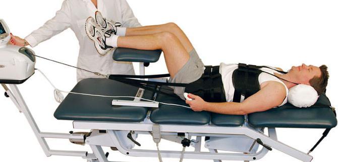 Trattamento della chirurgia intervertebrale spinale erniata