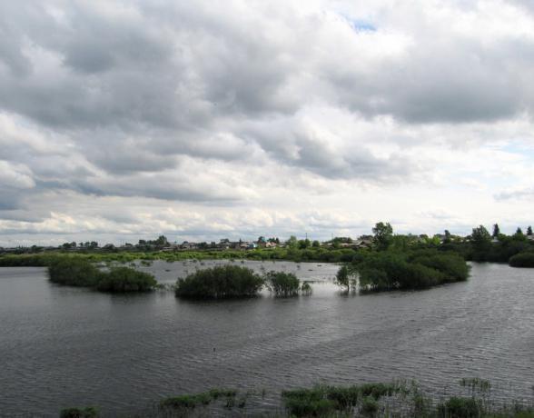 rzeka i Jekaterynburg