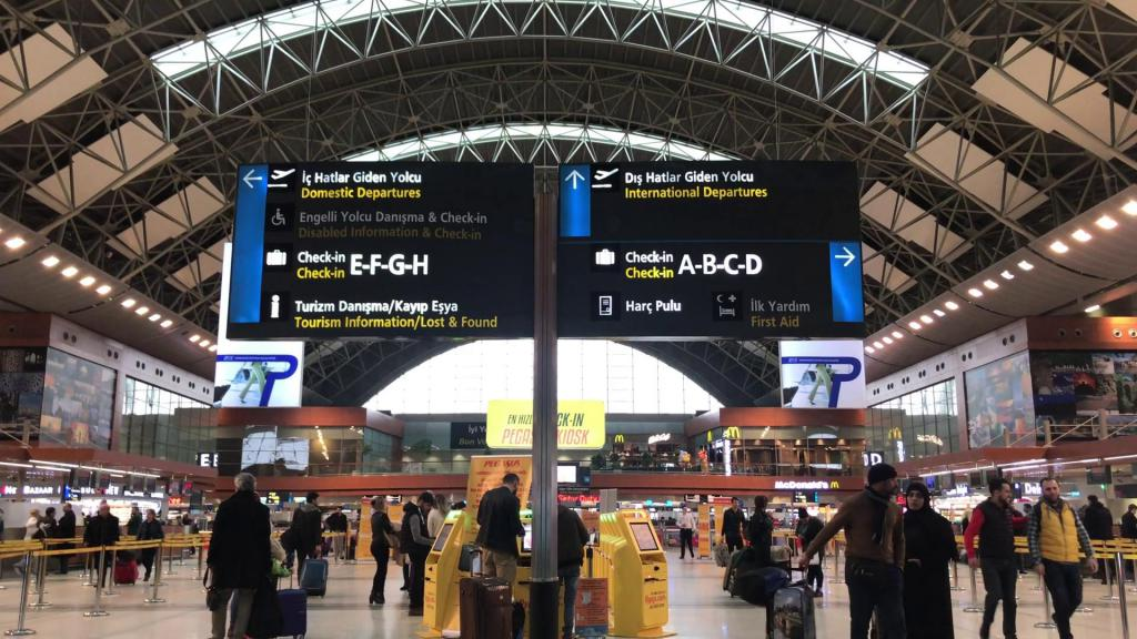 Scheda dell'aeroporto di Istanbul