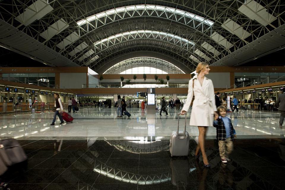 Tabellone segnapunti dell'Aeroporto Ataturk, Istanbul
