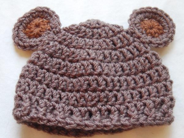 pletene kape za novorojenčka