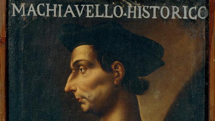 Niccolo Machiavelli Myšlenky