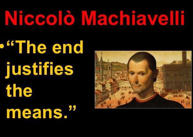 Niccolo Machiavelli Citáty