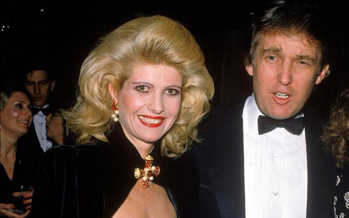 Ivana Trump e Donald Trump