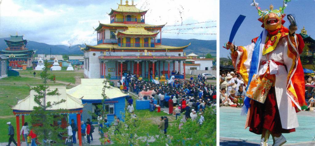 Centro del buddismo in Russia