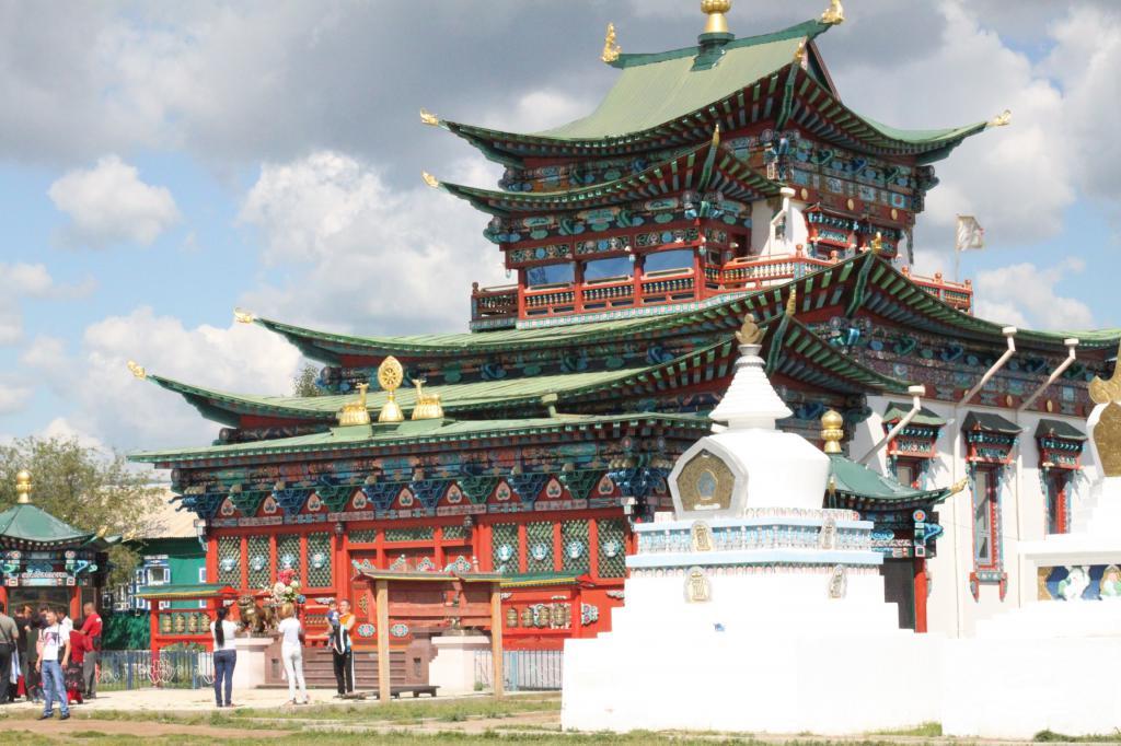 Stupas Datsan