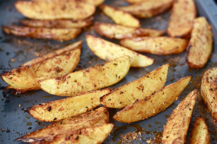 печен картоф