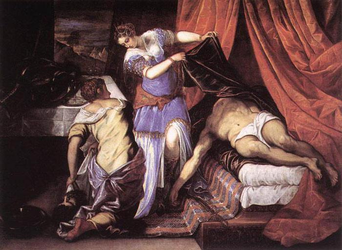Tintoretto Judith