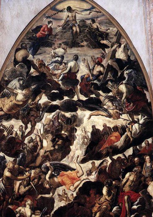 Tintoretto Corte terribile