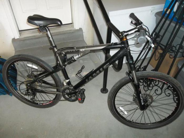 jízda na kole jamis