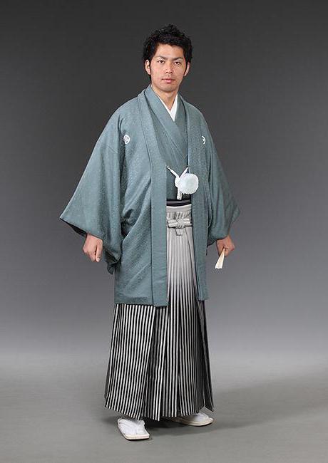japonski kimono moški