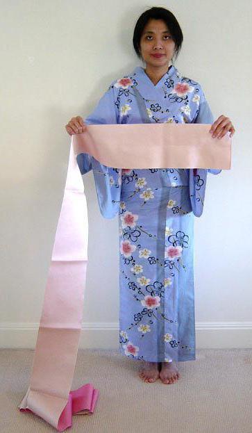 kako vezati japonski kimono