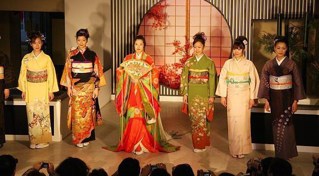 tradicionalni japonski kimono
