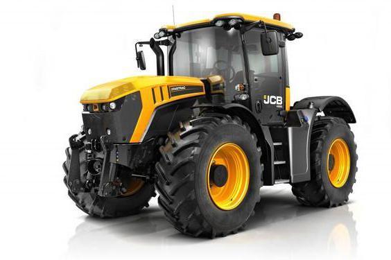 trattore jcb foto