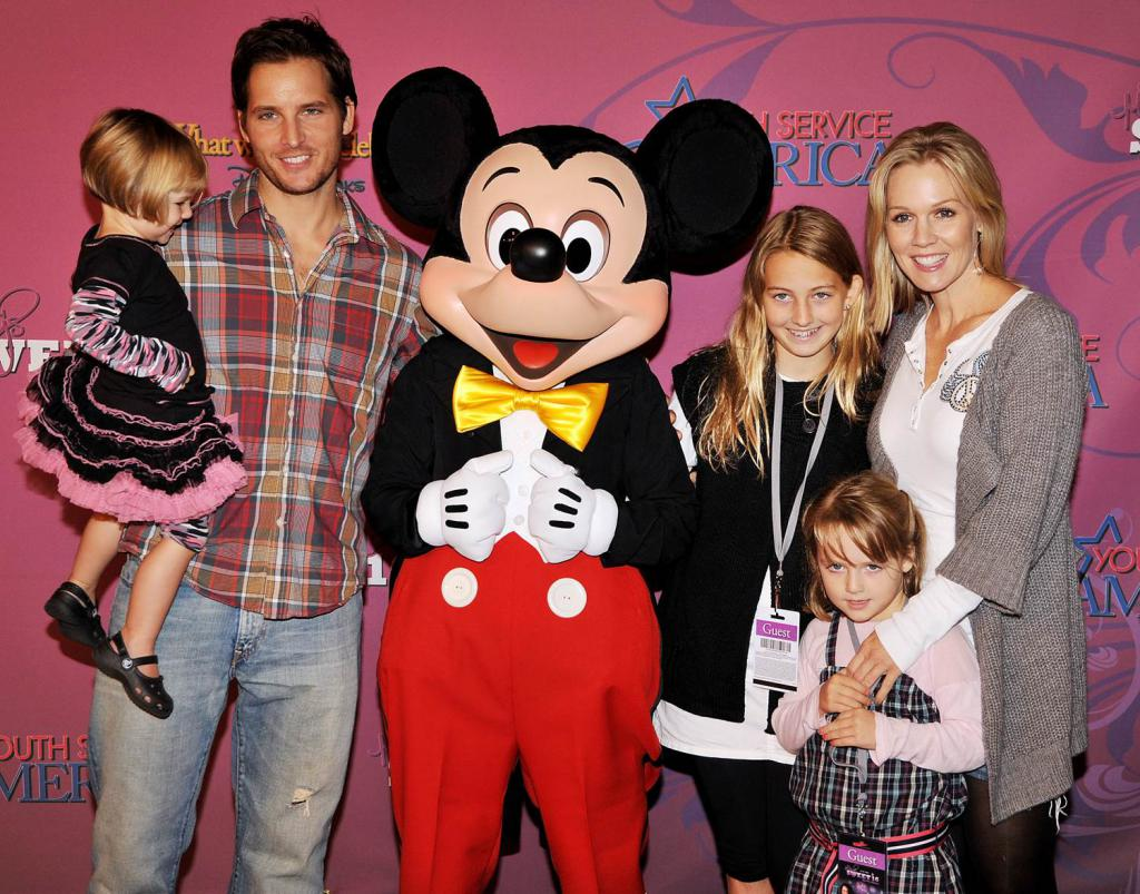 Famiglia Jennifer Garth