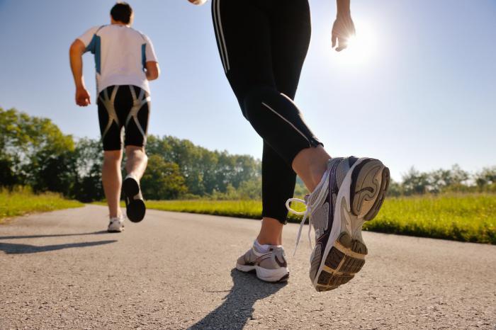 jogging corretto
