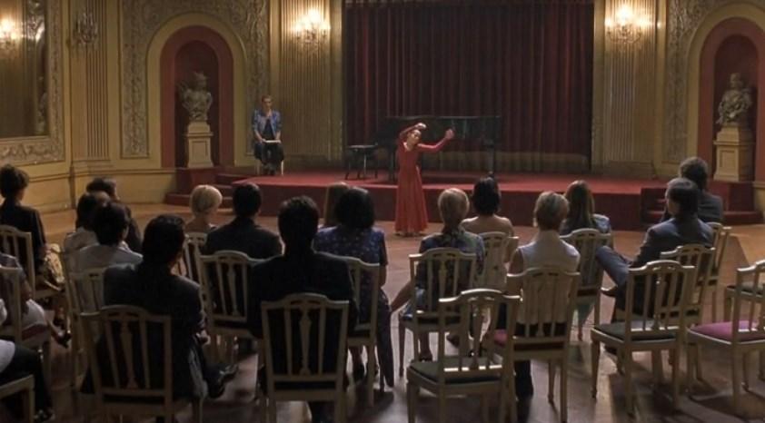 Movie Dancer Al piano superiore
