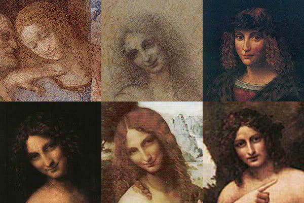 Opis Janeza Krstnika Leonarda da Vincija