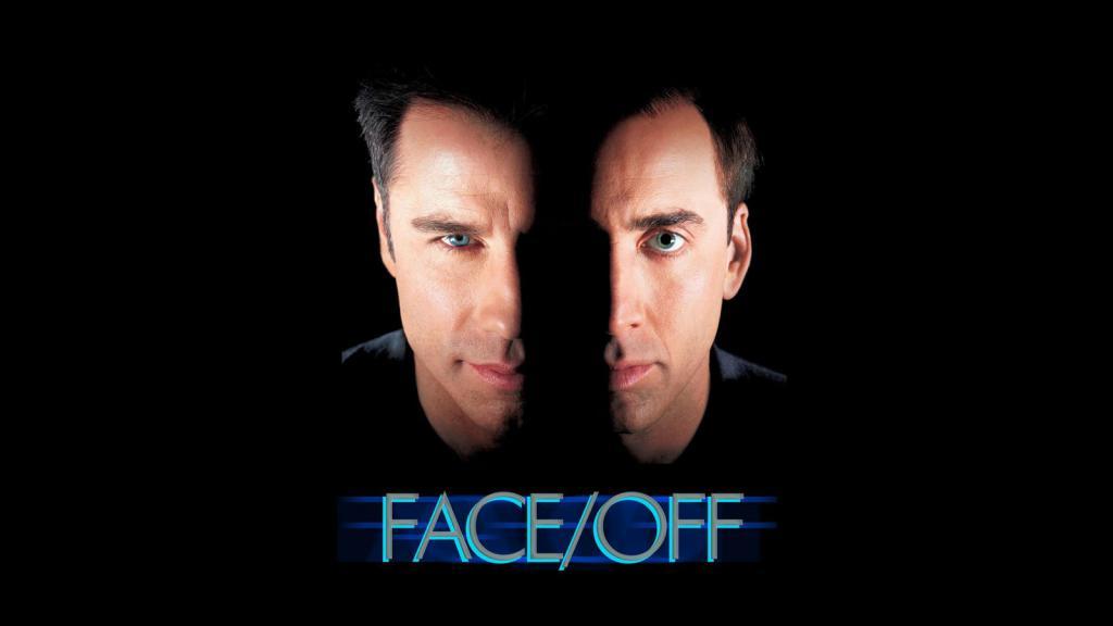 Cage e Travolta nel film