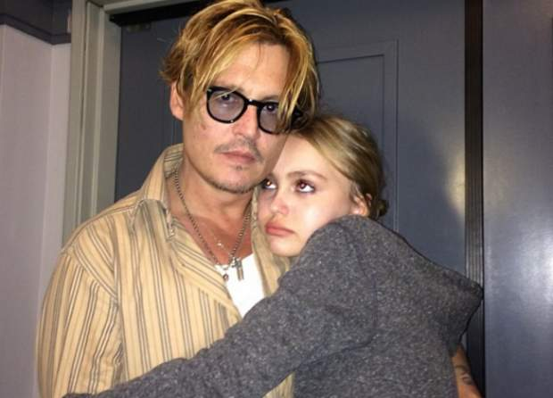 Johnny Depp sa svojom kćeri