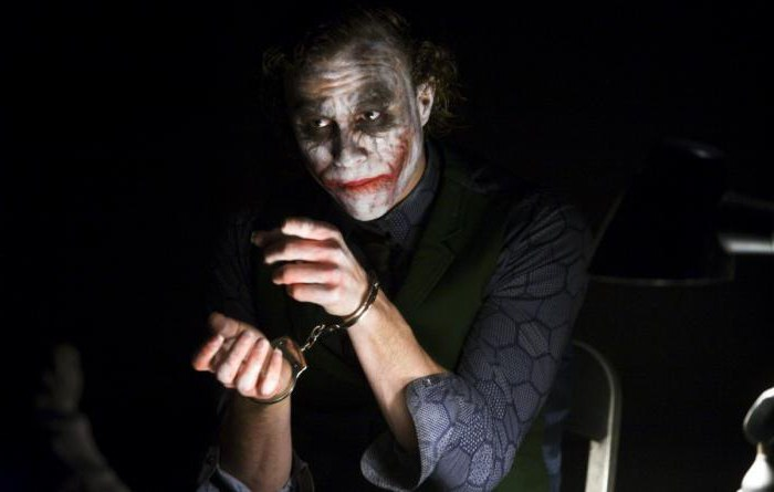 citazioni di joker cavaliere oscuro