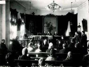 wyniki reformy sądownictwa 1864