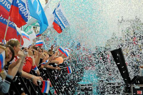 12 giugno Giorno delle festività della Russia