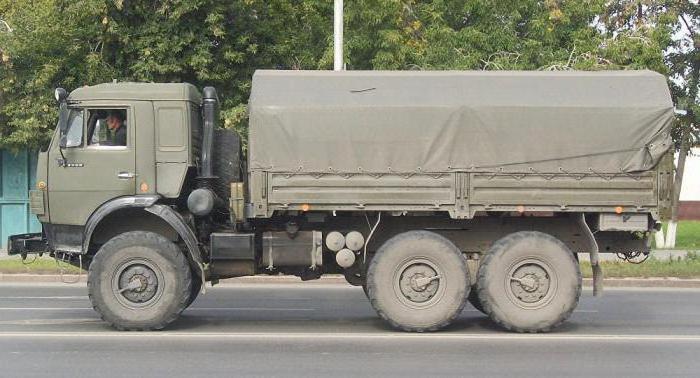 Kamaz 5350 tehnični
