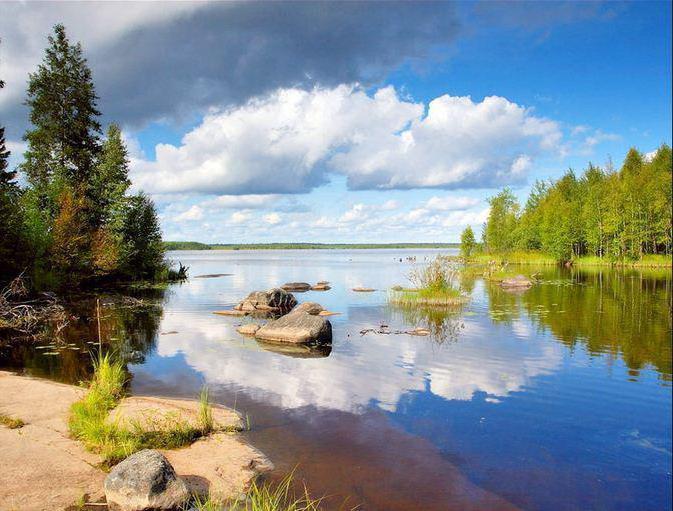 ragioni per il gran numero di laghi in Carelia