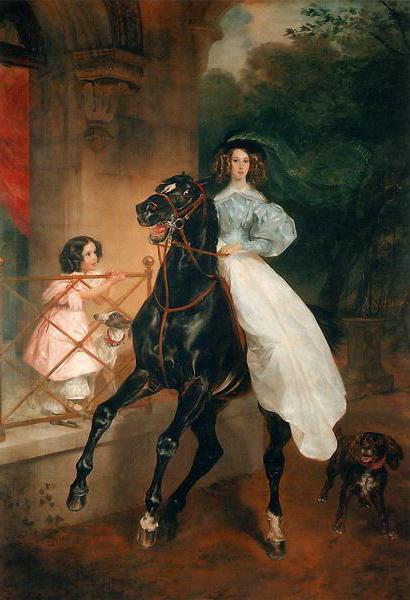 Slika Karl Bryullov konjica