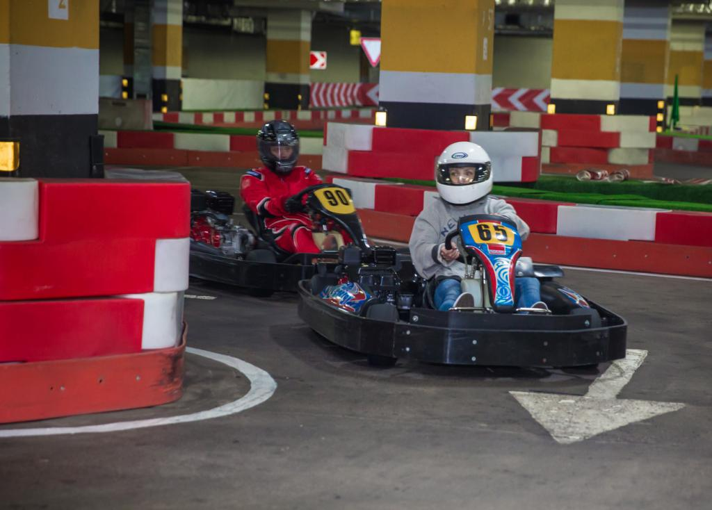 Karting a Mosca