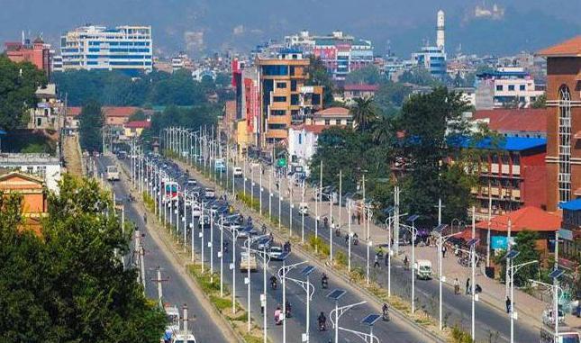 флага на Катманду