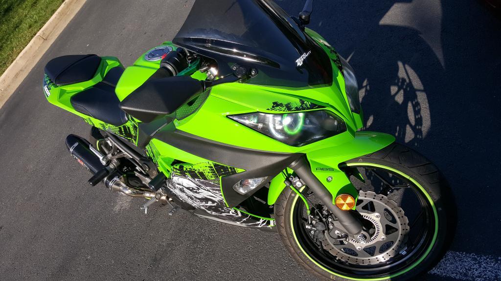 Qualità Kawasaki Ninja 300