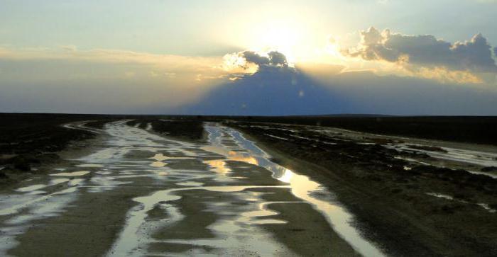 fattori che influenzano il clima del Kazakistan