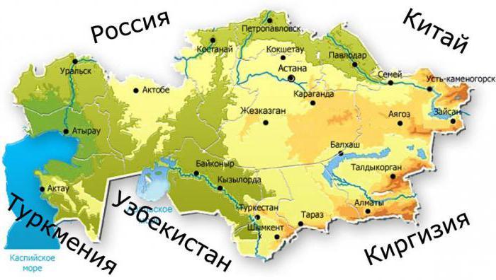 Kazahstanske gore