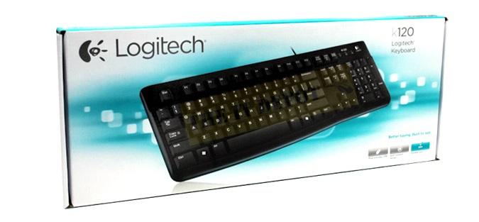 Фото клавиатура Logitech K120